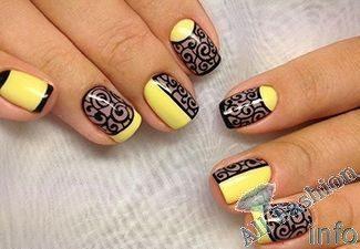 фото дизайн на короткие ногтей