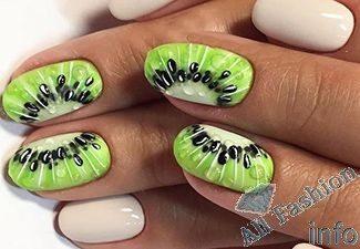 Дизайн ногтей шеллаком лето картинки