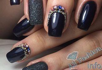 Нарощенные ногти модные