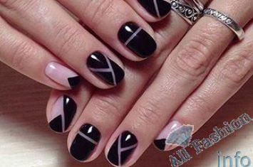 Геометрический маникюр - фото идей дизайна ногтей - Best 2