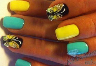 модные цвета ногтей шеллаком (30)