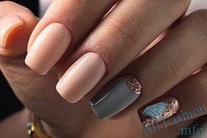 Ногти Дизайн Новинки Бежевые