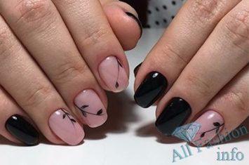 водный рисунок на ногтях в домашних условиях фото пошагово