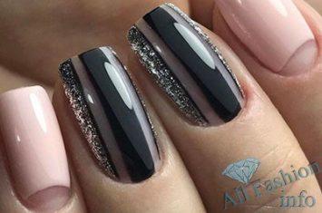 Фото дизайна ногтей золотом