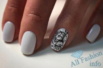 рисунки фото на ногтях