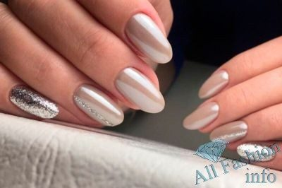 Маникюр На Короткие Ногти Осенний Дизайн