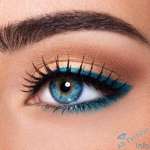 Макияж для голубых глаз 70 фото 2 видео