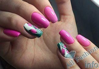 Дизайн ногтей шеллаком на лето [year] 156 фото новинок