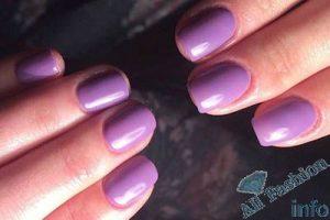 Фиолетовый, сиреневый, лавандовый маникюр 100 фото новинок