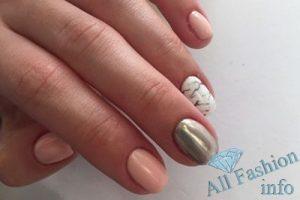 Втирка на ногтях (зеркальный маникюр) 132 фото новинок