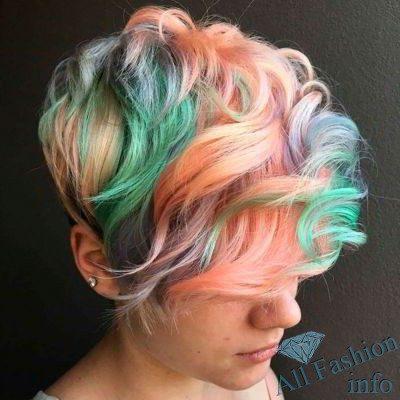Модные прически для коротких волос [year]