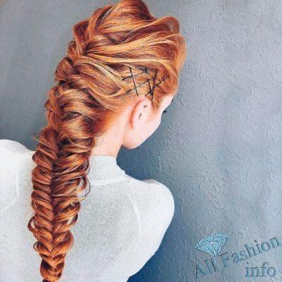 Модные прически [year] для длинных волос
