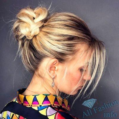 Актуальные прически для средних волос [year]