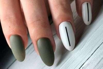 Маникюр для овальных ногтей [year]