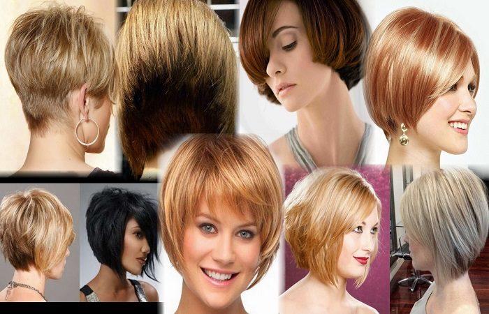 Стрижка не требующая укладки на короткие волосы фото
