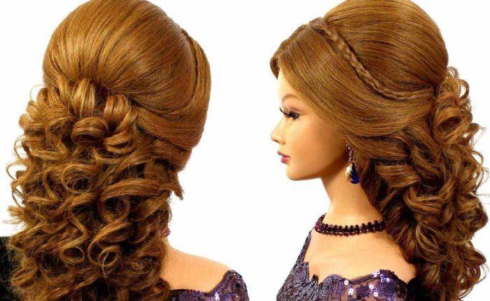 прическа на выпускной 2021 на длинные волосы