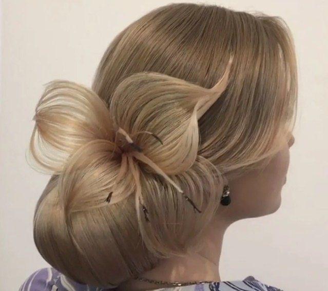 лилия из волос