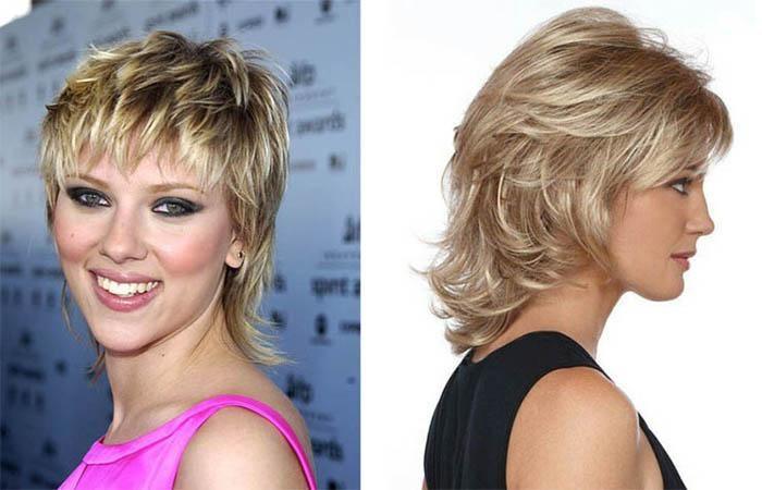 Стрижки не требующие укладки на средние волосы